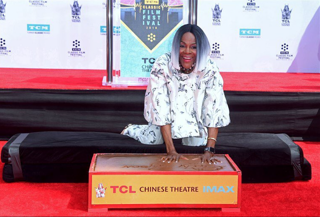 Cicely Tyson Immortalized With Hand And Footprint Ceremony