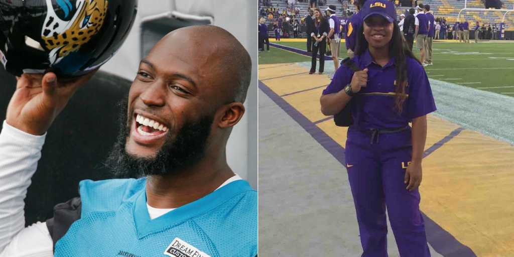 NFL Player Leonard Fournette Pays For Remainder Of Student's Tuition At His Alma Mater