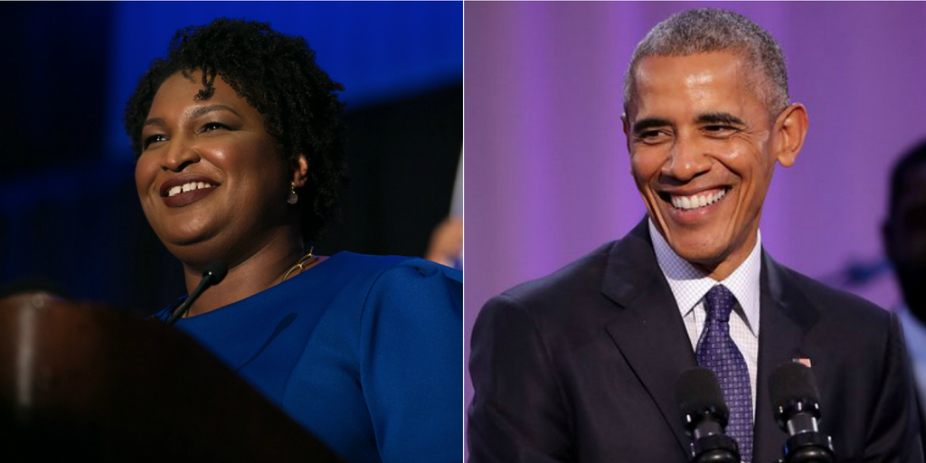Georgia Governor Nominee Stacey Abrams Scores Endorsement From Barack Obama