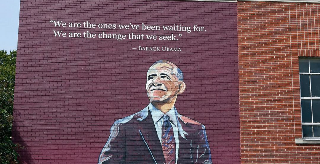 New Barack Obama Mural Unveiled At Mississippi School Renamed After The First African American President