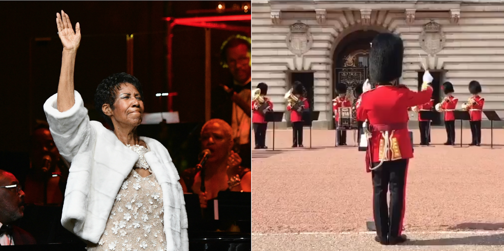 Watch Buckingham Palace Pay Respect To Aretha Franklin With A Musical Tribute