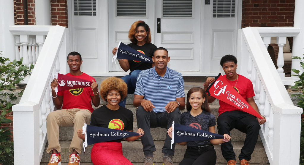 Grant Hill And The Atlanta Hawks Donate Scholarship Money To 33 HBCU Students