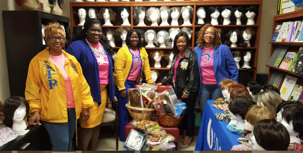 Sigma Gamma Rho Chapter In Jackson, Mississippi Donate Over 100 Wigs To Women Battling Breast Cancer