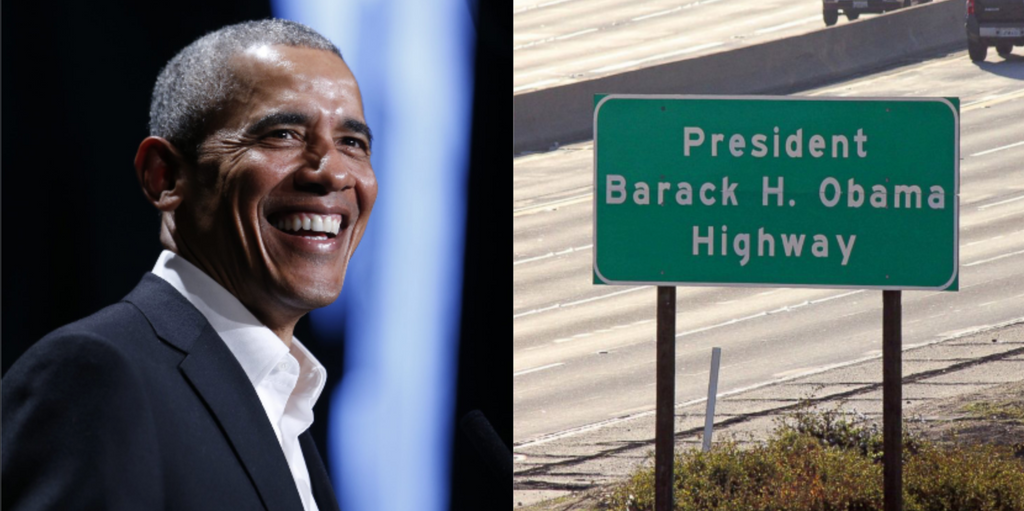 California Freeway Officially Renamed 'President Barack H. Obama Highway'