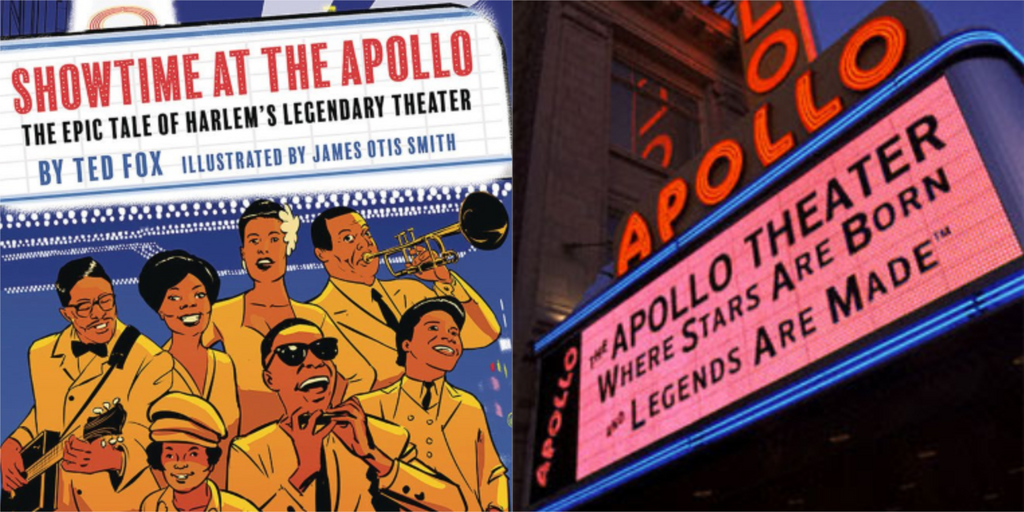 New Graphic Novel Celebrates The Legendary Apollo Theater In Harlem