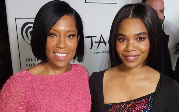 Regina King Lifts Up Regina Hall As She Becomes The First Black Woman To Receive The NYFCC Award For Best Actress