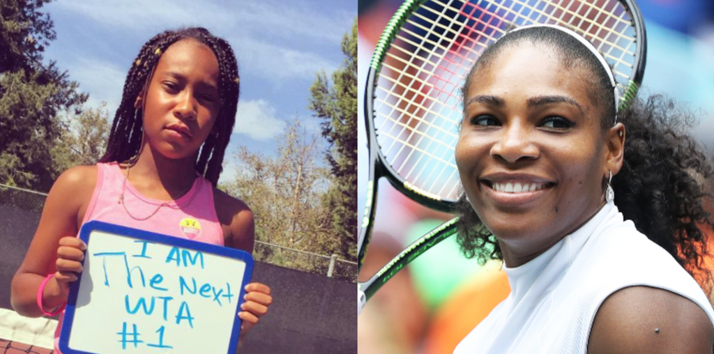 Powerful Video Of 12-Year-Old Sharing How Serena Williams Inspired Her To Play Tennis