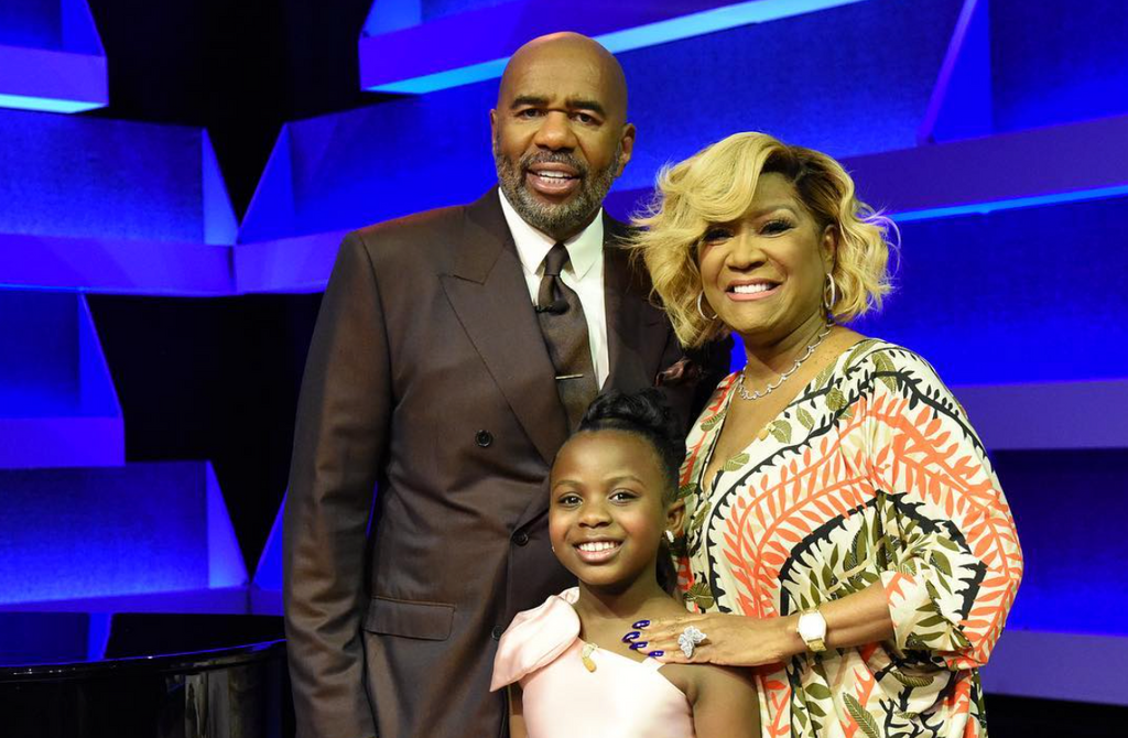 Patti LaBelle Drops By The Steve Harvey Show To Surprise One Of Her Youngest Fans