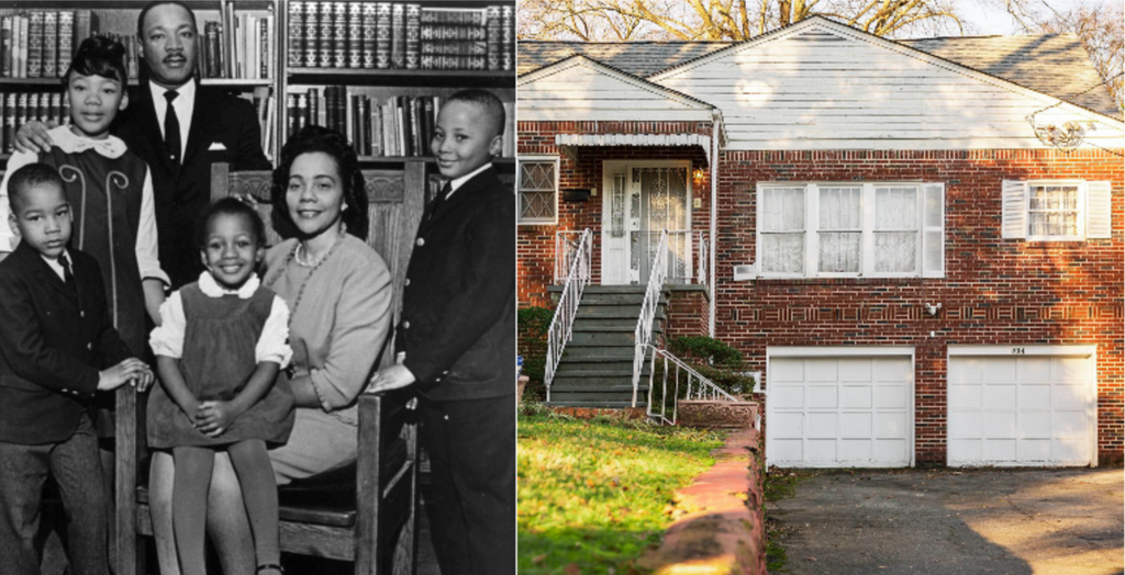Dr. Martin Luther King Jr. and Coretta Scott King's Family Home is Now Part of MLK National Historical Park