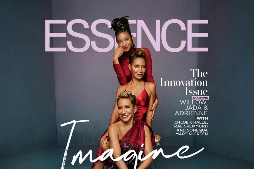 Three Generations of Black Girl Magic: Jada Pinkett Smith Covers Essence with her Mother Adrienne and Daughter Willow