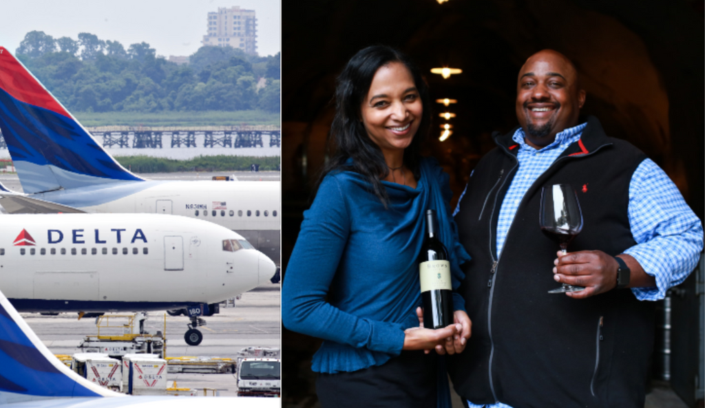 Napa Valley's First Black-Owned Estate Winery Scores Partnership with Delta Air Lines