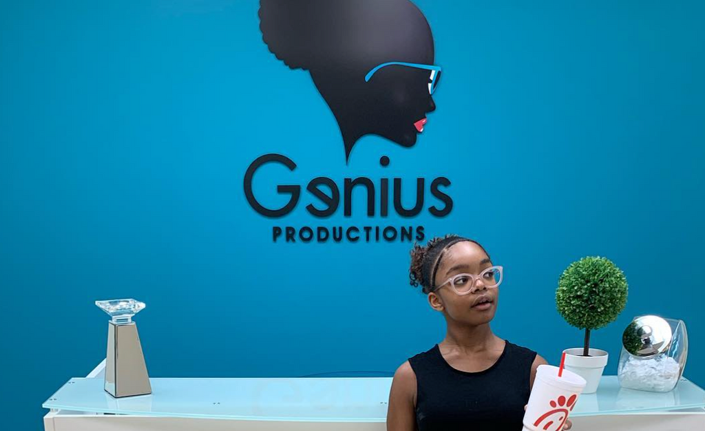 Welcome to Marsai Martin's Production Company, Genius Productions