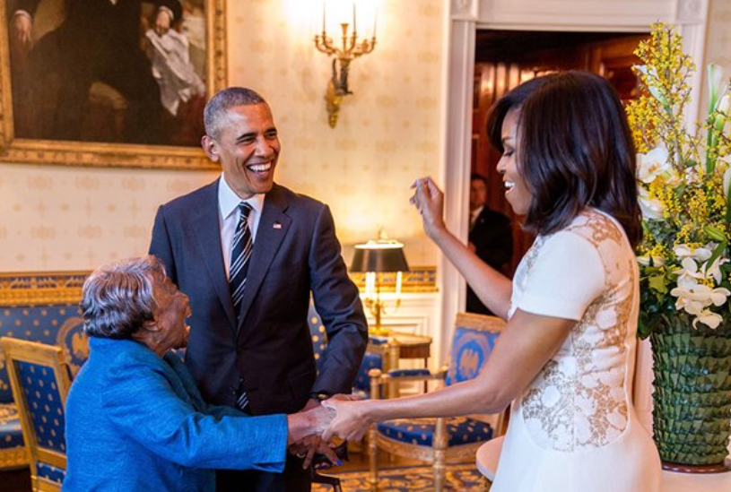 Michelle Obama Wishes Dancing Queen Virginia McLaurin a Happy Birthday