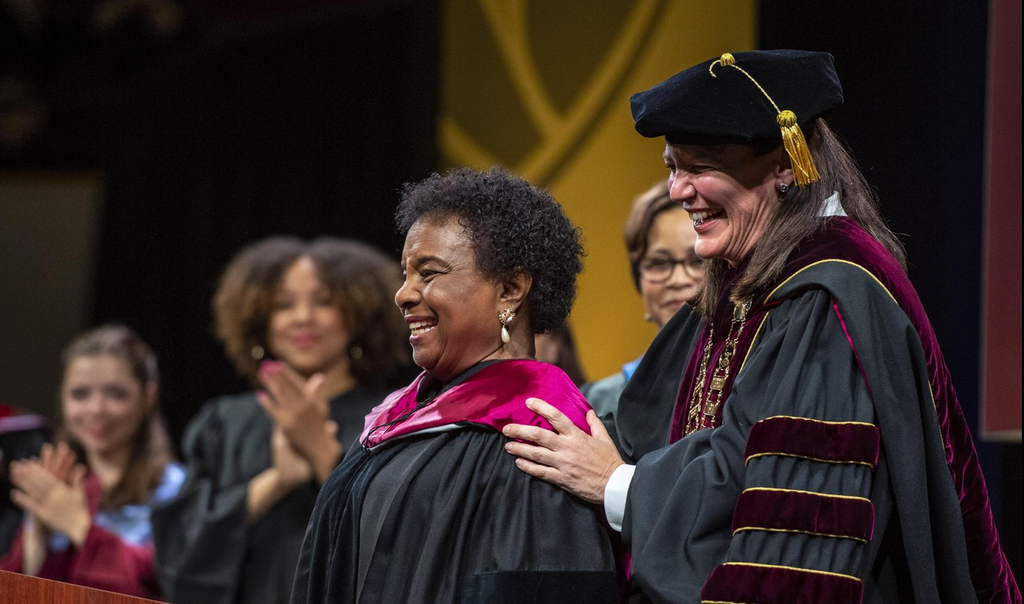 Elon University Presents Honorary Doctorate to its 1st African American Student