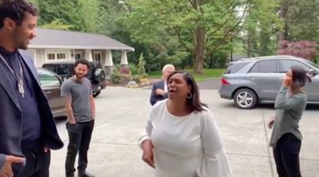 Russell Wilson Surprised His Mom with New House for Mother's Day