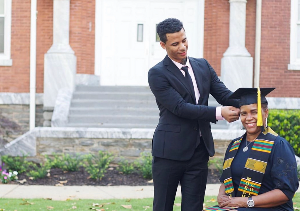 Morehouse Class of 2019 Grad Honors His Mother in Photoshoot