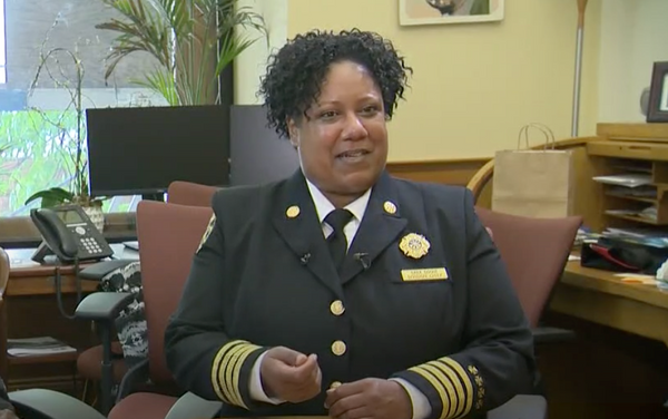 Sara Boone Becomes First African-American Fire Chief in Portland