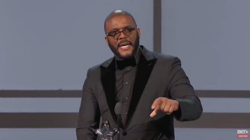 Tyler Perry's Moving Speech During BET Awards