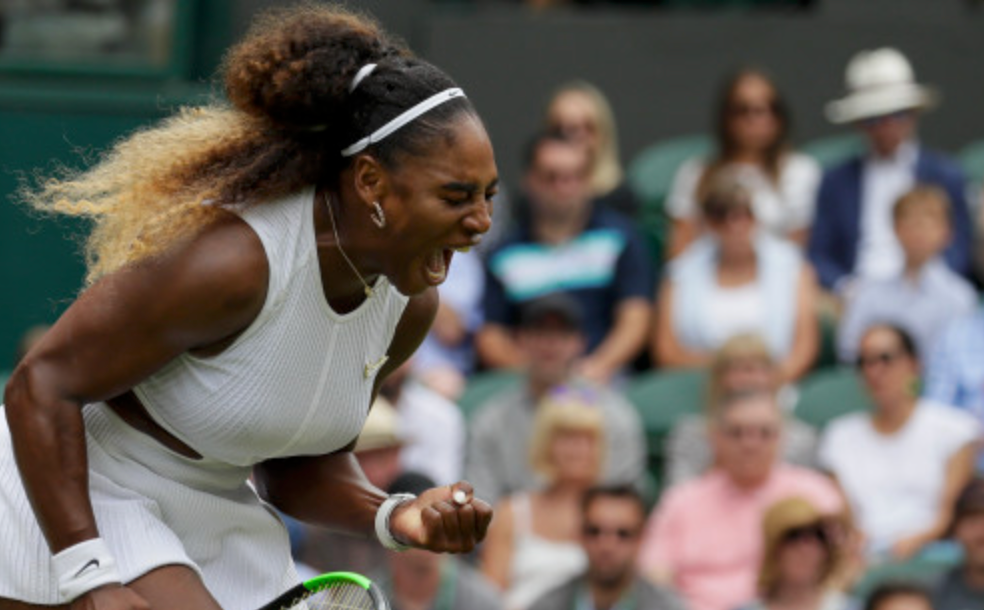Serena Heads to Wimbledon Semi-Finals, One Step Closer to 24th Grand Slam