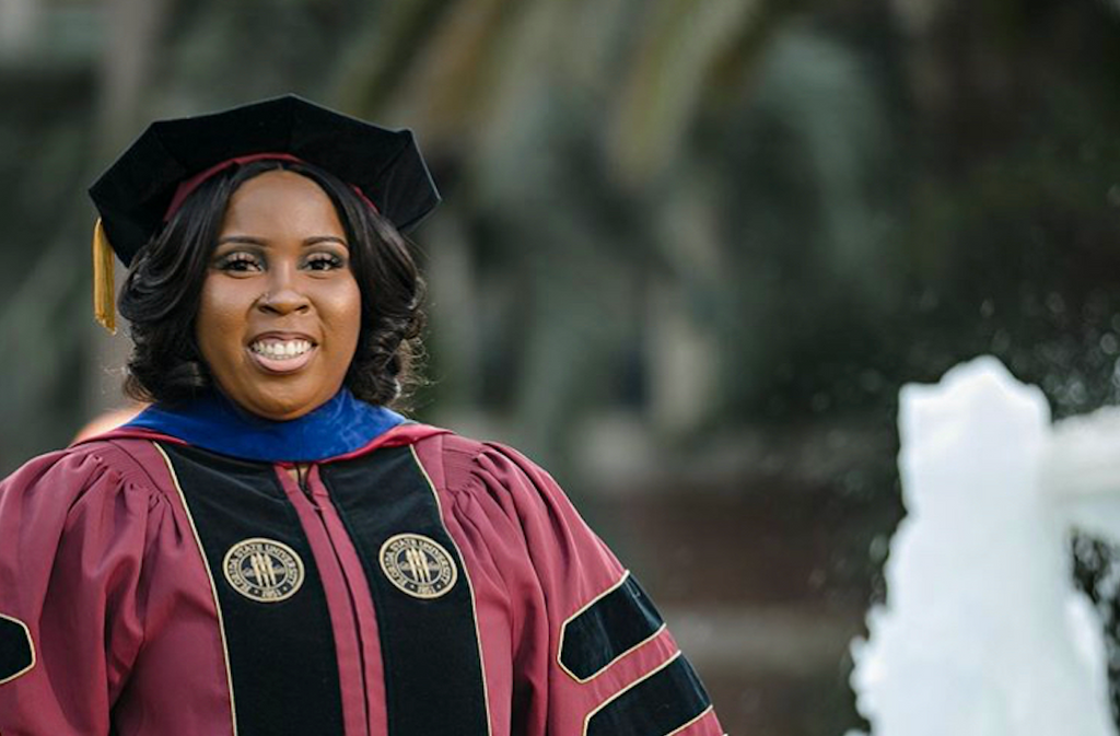 She Just Became The First Black Woman to Earn a Ph.D. in Nuclear Physics From FSU
