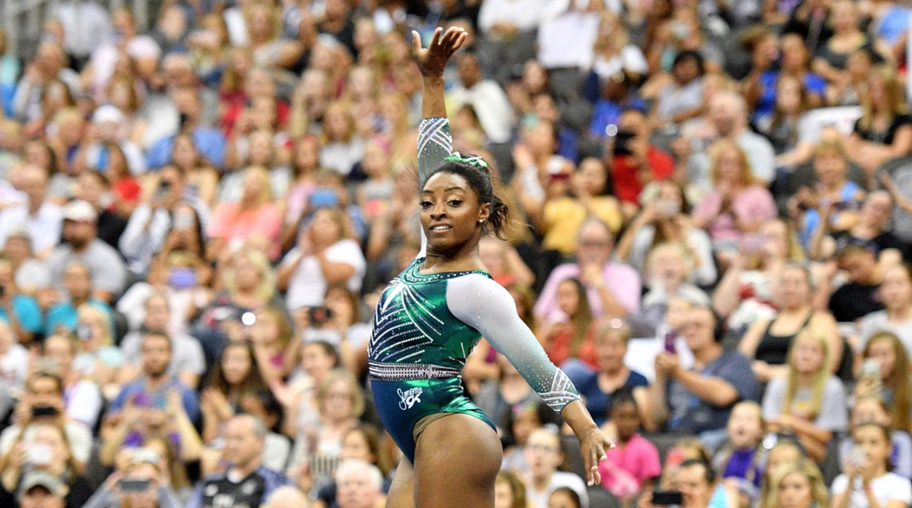 Simone Biles Becomes First Person in History to Perform Difficult Beam Dismount During USA Gymnastics Championship!