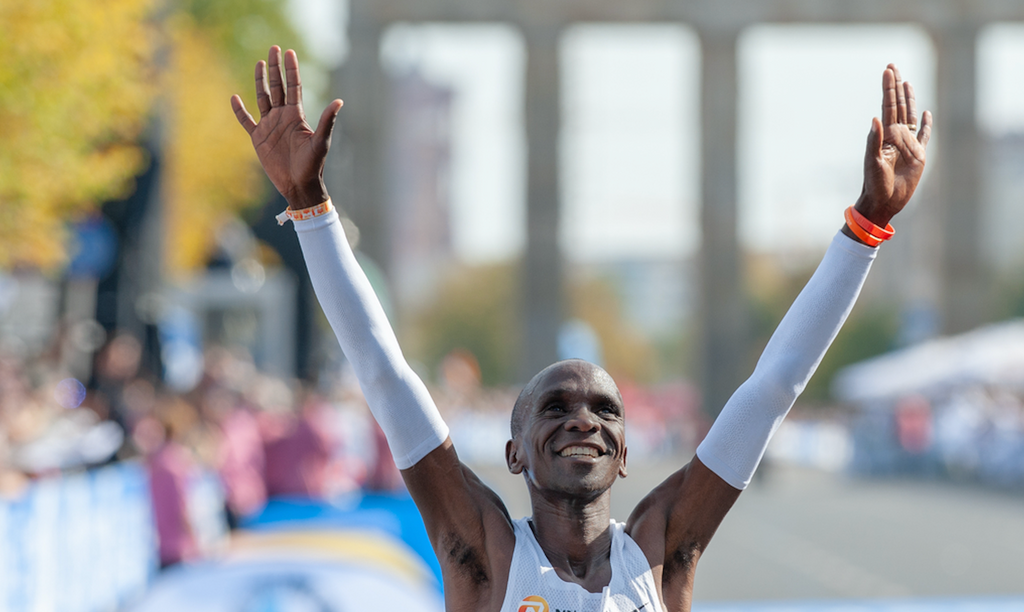 Eliud Kipchoge Becomes First Person to Run a Marathon Under Two Hours
