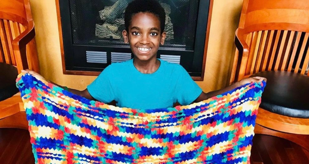 Meet Jonah Larson, The 11 Year Old Crochet Prodigy