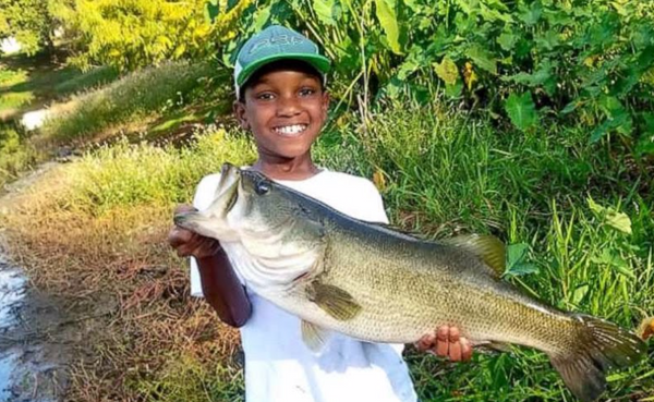 10-Year-Old Fisherman Goes Viral After His Catch And Release Of A 7lb Bass