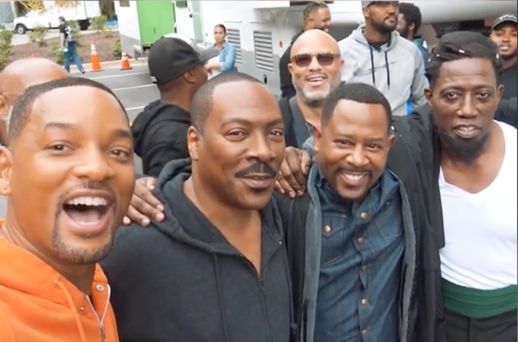 Bad Boys 3 and Coming to America 2 are Filming at Tyler Perry Studios at the Same Time