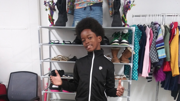 11-Year-Old Celebrates His Birthday By Opening Up A Thrift Store