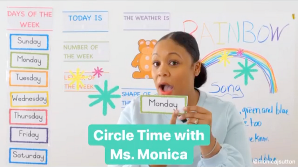 Meet The Educator Bringing A Sense of Normalcy To Distant Learning With Her Pre-K 'Circle Time' Videos