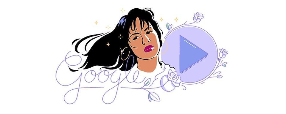 Google Doodle Honors Selena On The Anniversary Of Her First Studio Album