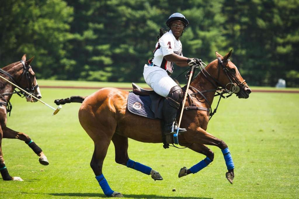 This 19-Year-Old Just Became The First Black Woman To Play In The Top-Tier Of U.S. Polo