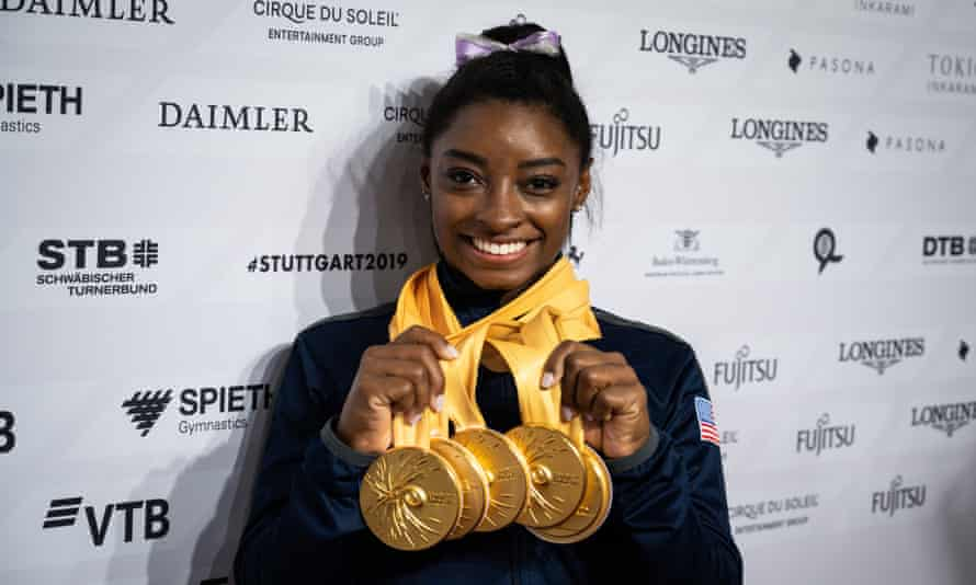 Simone Biles Becomes Most Decorated Gymnast in World Championship History