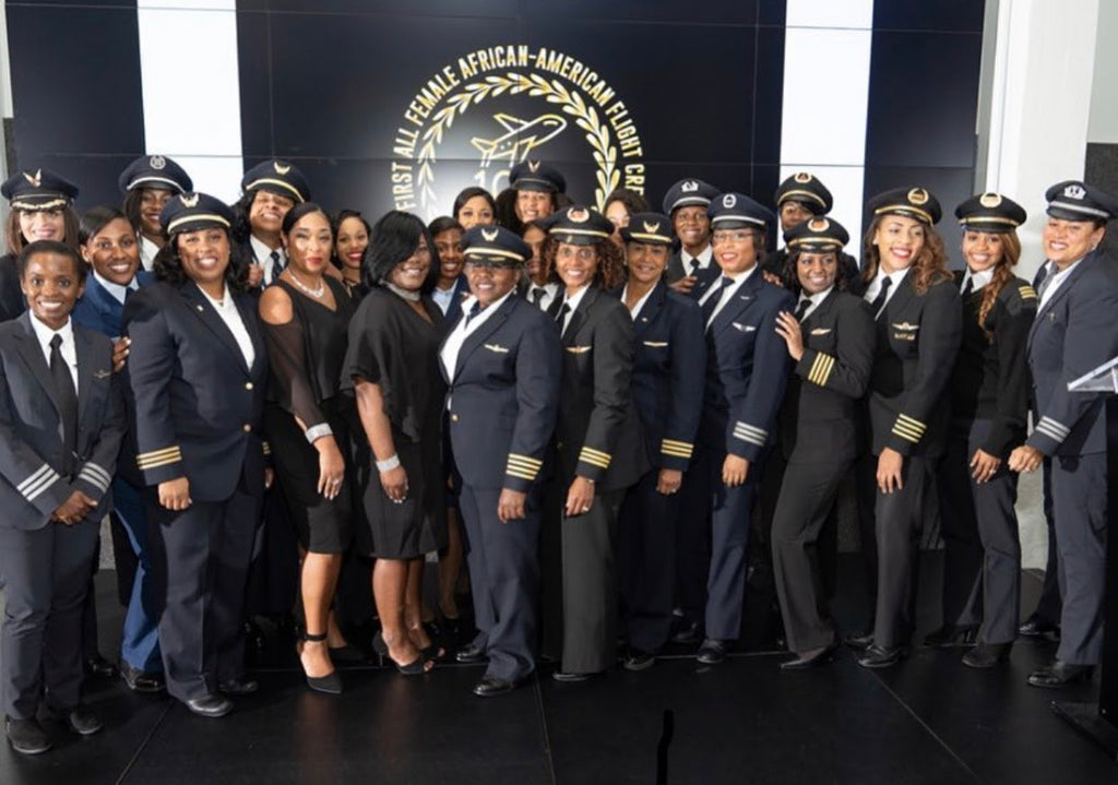 Meet The Black Women's Pilot Group Working To Increase Diversity In The Friendly Skies