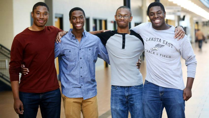 Quadruplets: All Four Brothers Accepted Into Yale And Harvard University