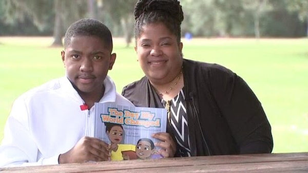 Teen With Autism Writes Children's Book To Help Kids Cope With The Intensity Of Last Year