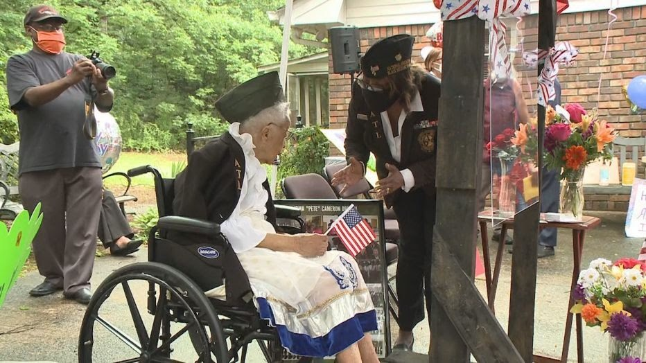 Last Living Tuskegee Airmen Nurse Celebrates 100th Birthday