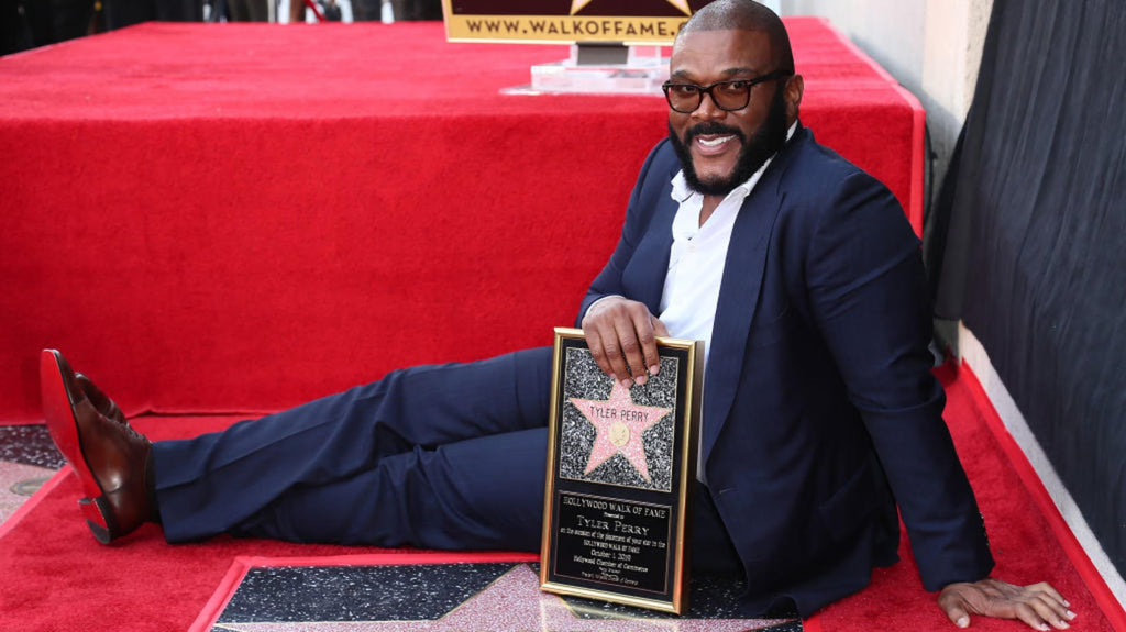 Tyler Perry Honored With Star on the Hollywood Walk of Fame
