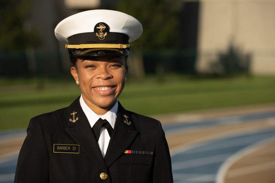 She Just Became The First Black Woman To Lead US Naval Academy's Brigade In It's 175-Year History
