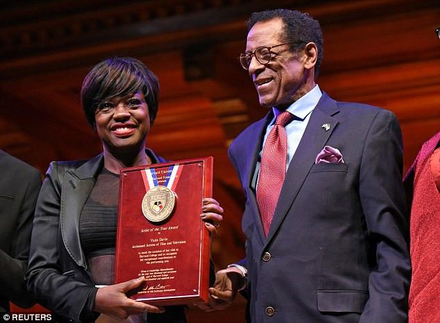Viola Davis Accepts Harvard University's  'Artist Of The Year' Award