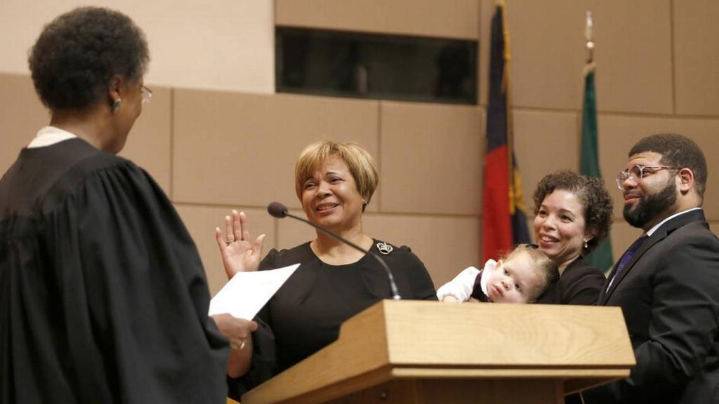 Vi Lyles Sworn In As Charlotte's First Black Woman Mayor