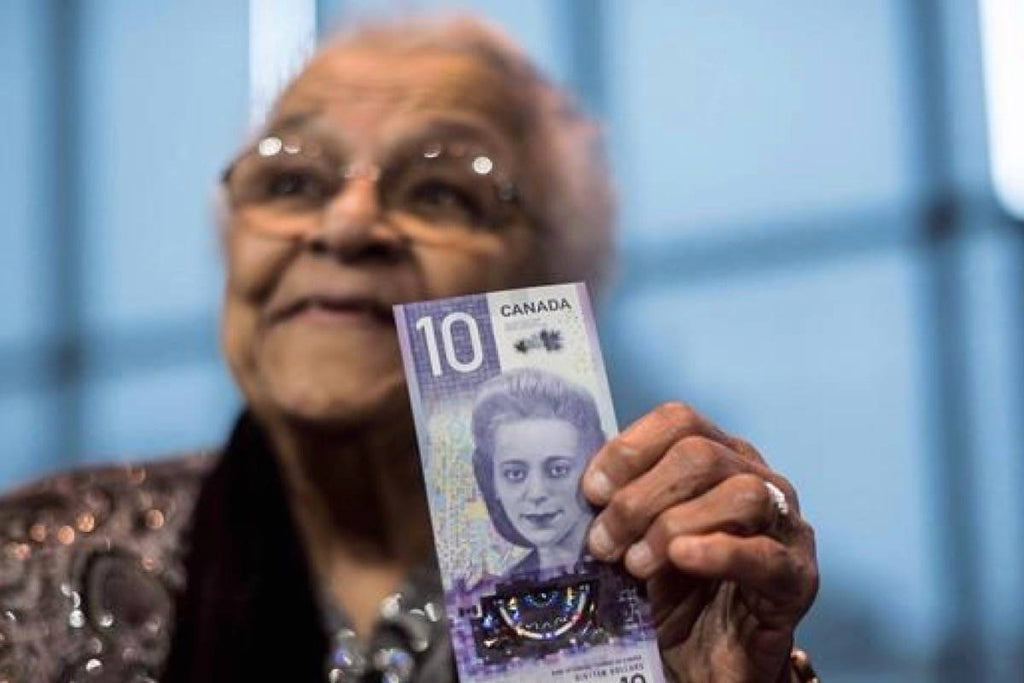 Canada's New $10 Bill Featuring Civil Rights Pioneer Viola Desmond Officially Goes Into Circulation