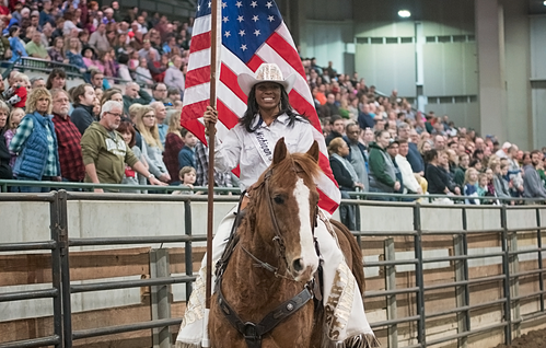 Michigan State's First Black Rodeo Queen Could Become The First Black Miss Rodeo USA