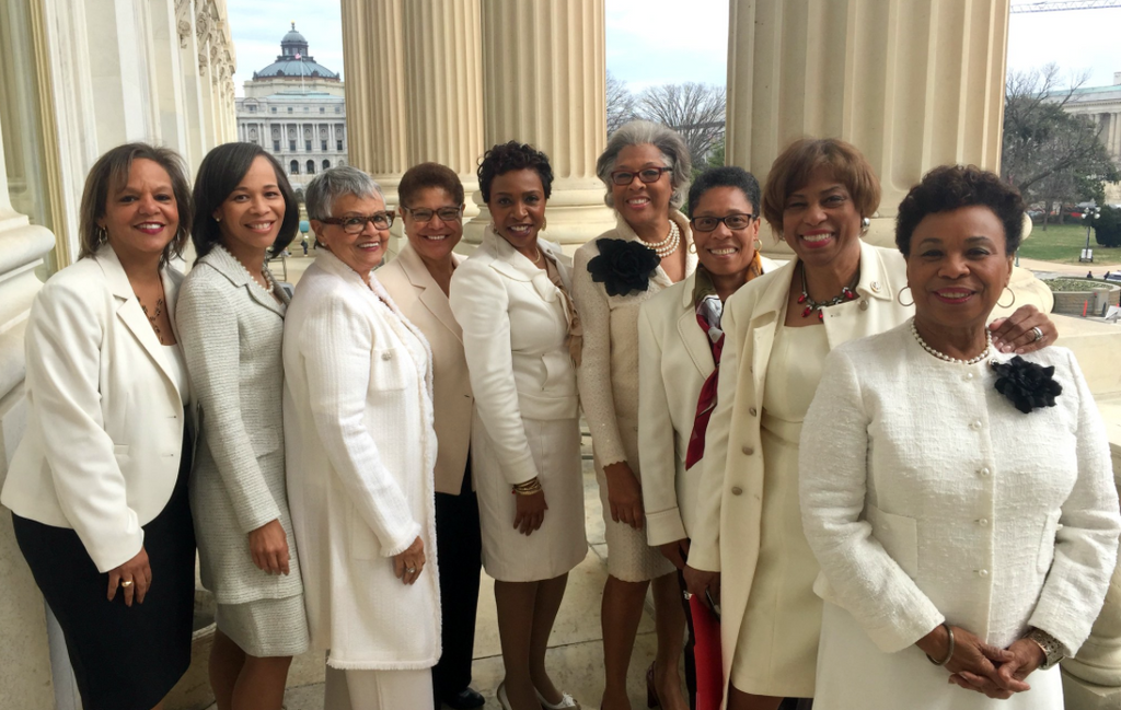 Why This Photo Of Black Congresswomen Dressed In Suffragette White Is So Powerful