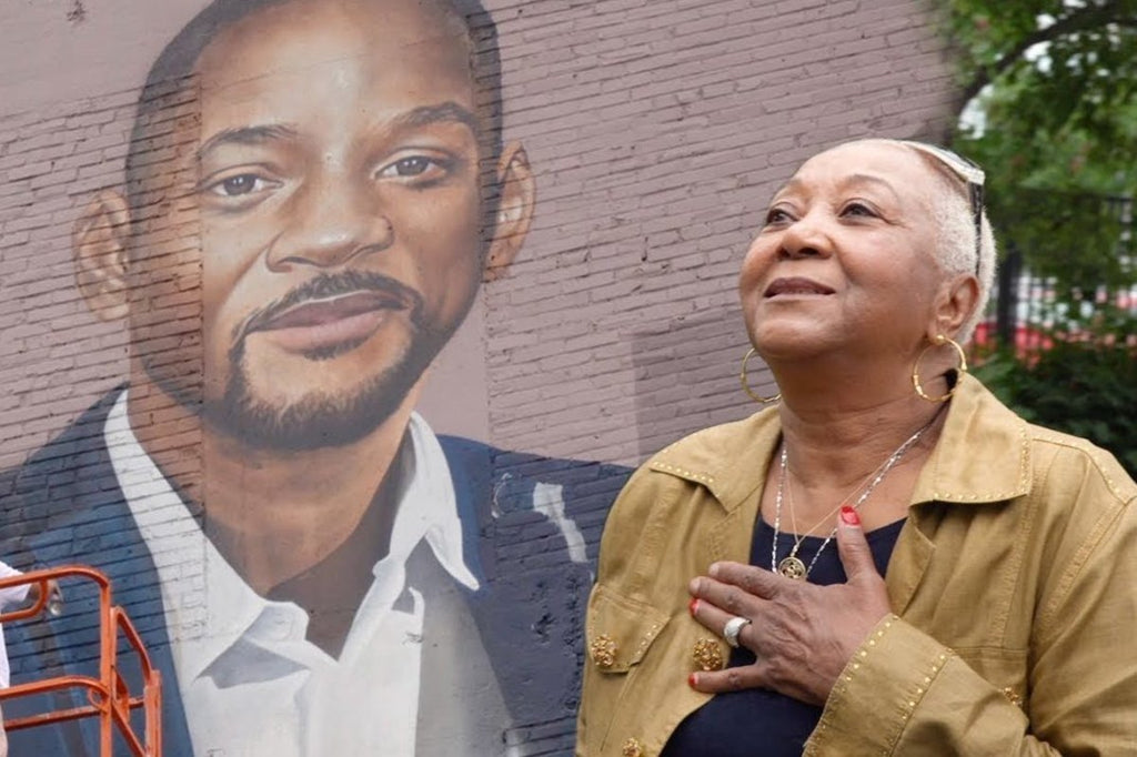 Watch Will Smith And His Mother React To His New Mural In West Philadelphia