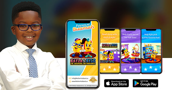 8-Year-Old Creates Animated App To Enhance Children's Vocabulary