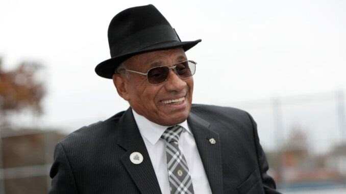 Willie O'Ree, The First Black NHL Player, Will Have His Jersey Retired