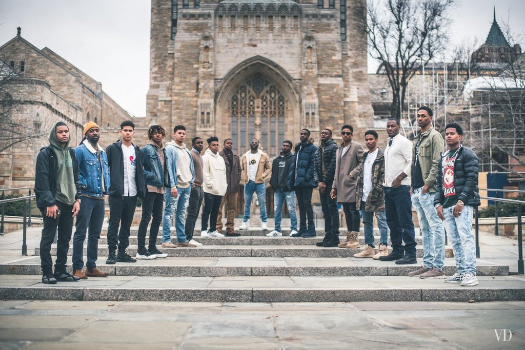 This Recent Grad Launched A #BlackMenOfYaleUniversity Photo Series To Spotlight Black Men At Ivy League Schools