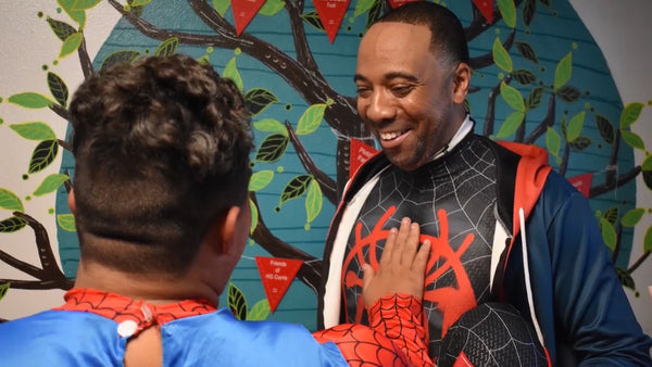 Los Angeles Man Travels the Country as Modern Day Superhero To Bring Joy to Sick Kids